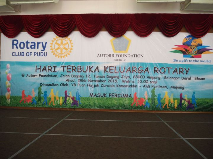 Rotary Club of Pudu – Family Open Day
