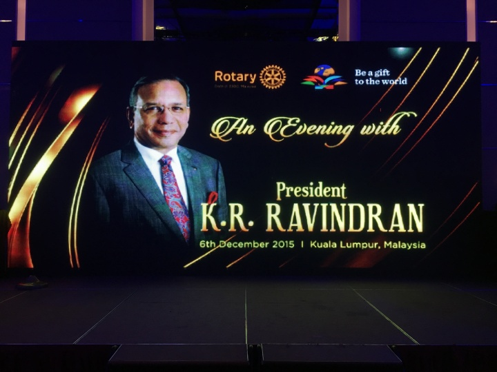 Rotary International President BanquetDinner
