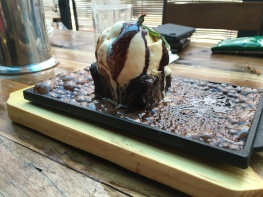 Mt. Buleleng inspired Sizzling Bacon Chocolate Cake