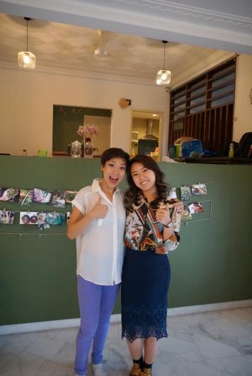 Photo with Davina